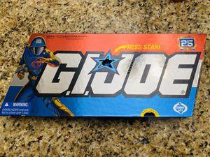 Photo 25th anniversary GI Joe set of 5 figures ( Cobra set) RARE