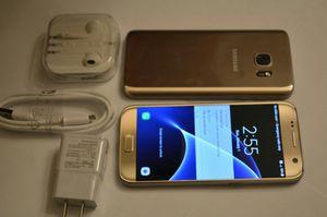 Samsung Galaxy S7, Excellent condition, Factory Unlocked for Sale in Arlington, VA