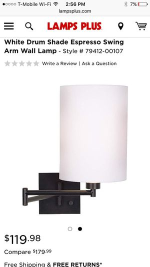 Swing Arm Lamps For In Lake Forest Ca