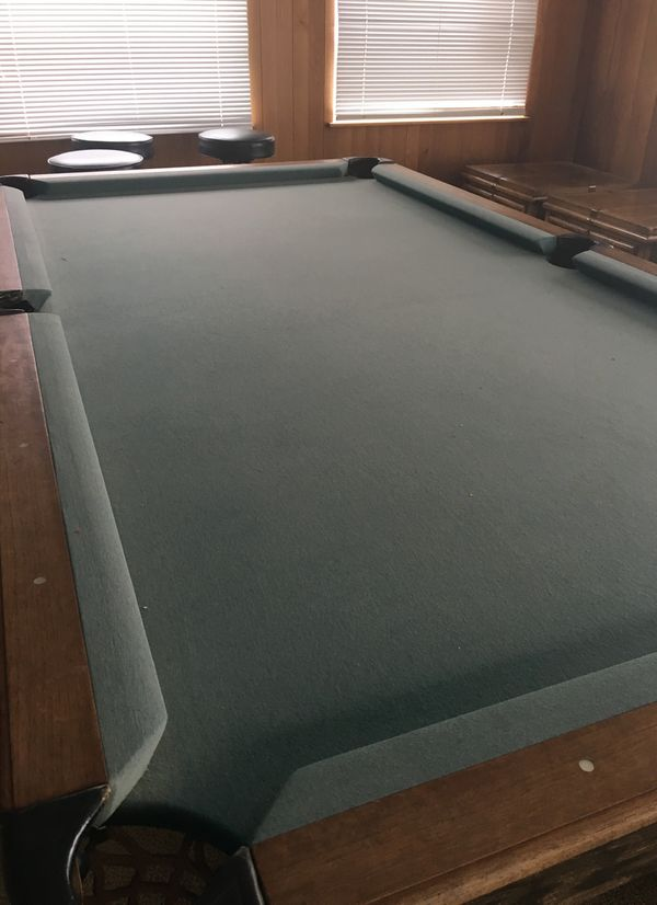 Custom Single Slate Pool Table By Delmo Billiards For Sale In - Delmo pool table