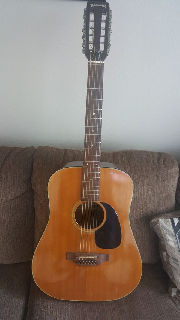 1978 Takamine Lawsuit Era 12 String Guitar For Sale In Murrells