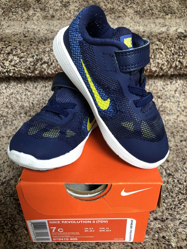 e68f27835dd Nike Revolution 3 (TDV) Toddler Boy Shoes for Sale in Spanaway