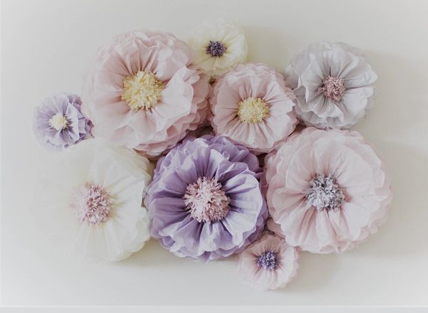 Elegant Color Tissue Paper Flower Decor For Sale In San Diego Ca Offerup