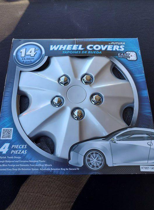 Futura 14 Inch Wheel Covers New