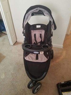 baby stroller with car seat and its base. for Sale in Glen Allen, VA