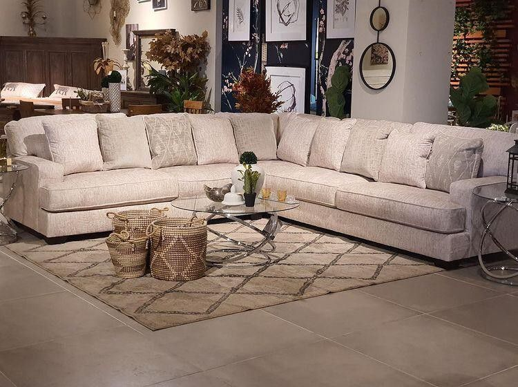 Radcliffe Parchment Modular Sectional (Sofa & couch, living room)