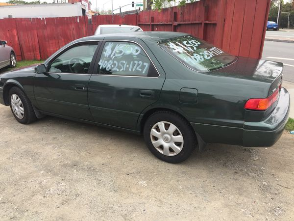 2001 Toyota Camry 218k Miles Runs And Drives Good No Mechanical Problems