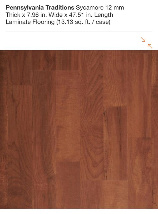 Pennsylvania Traditions Sycamore 12 Mm Thick X 796 In Wide X 4751
