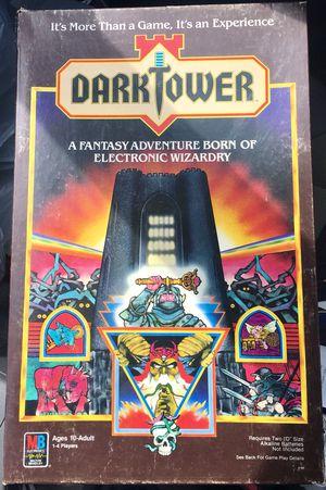 1981 Dark Tower Vintage Fantasy Board Game for Sale in Waldorf, MD