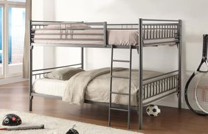 Grey Metal Bunkbed BRAND NEW for Sale in Ellicott City, MD