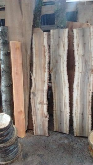 """Spalted Maple Slabs 10-12"""" wide x 2"""" thick x 58"""" for Sale in Portland, OR"""