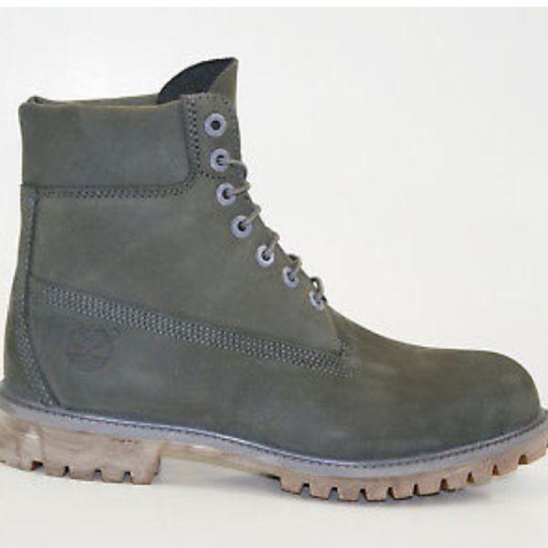 b4213b469381b TIMBERLAND 6 Inch Premium MEN S Waterproof Work Boots A114K SIZE 12 Gray.  Philadelphia