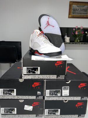 "Photo Jordan Retro ""Fire Red"" 5s DS Sizes 9.5,11,11.5,12"