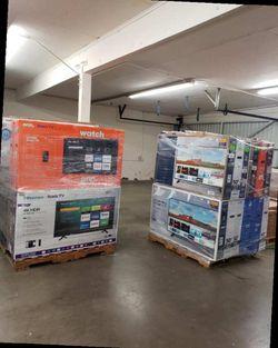 "Brand New Hitachi 50"" TV 4K! Open box w/ warranty N2 Thumbnail"