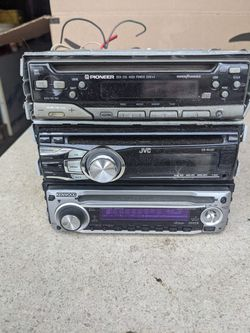 Three CD Player Head Units With Amplifier  Thumbnail