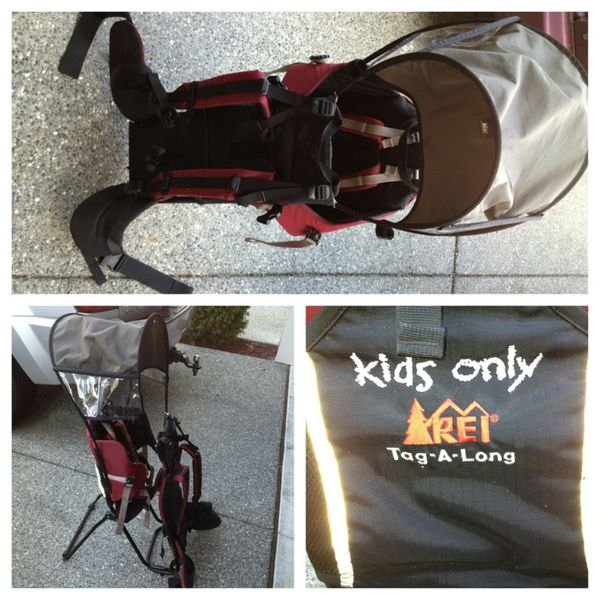 3846079bd67 Rei tagalong kid carrier for sale in bellevue wa offerup jpg 600x600 Rei  tagalong backpack