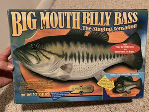 Original Big Mouth Billy Bass Singing Fish for Sale in Westminster, MD