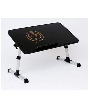 Entrepreneur Adjustable Laptop Desk & Bed Table with USB Fan Built-in, Portable Standing Desk, Foldable Sofa Breakfast Tray, Notebook Stand Reading H for Sale in Anaheim, CA