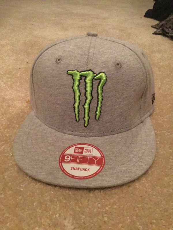 Monster energy athlete hat for Sale in Irvine 8c52599f6c6
