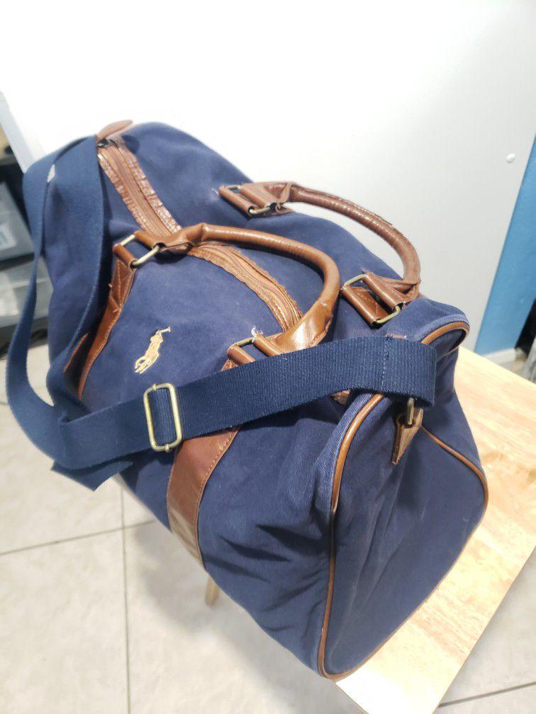 ralph lauren polo weekend duffle gym travel bag
