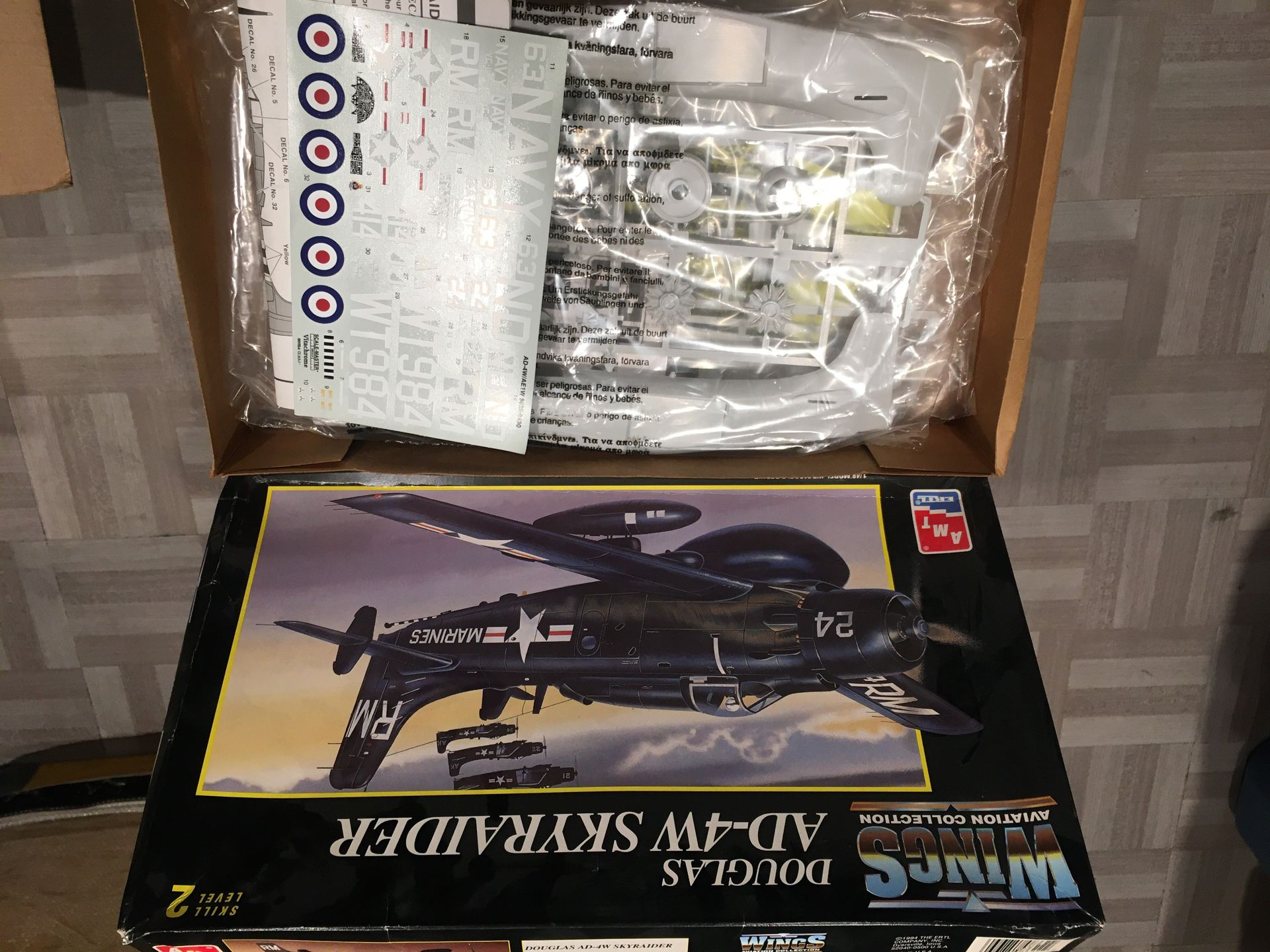 Douglas AD-4W skyraider - wings aviation collection