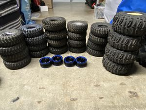 Photo *** 1/10 Scale RC tires with wheels. ***