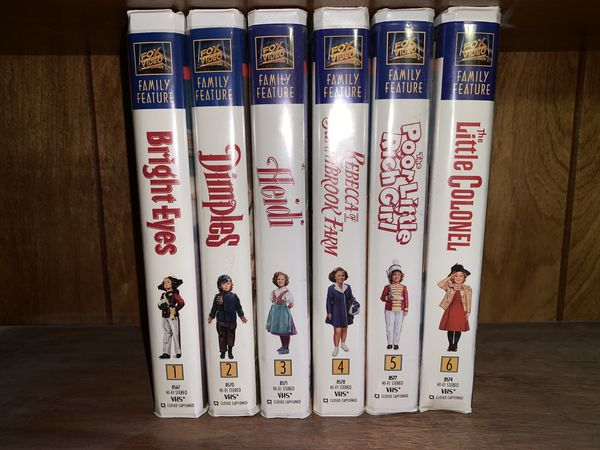 Shirley Temple movies on VHS for Sale in Saint Clair Shores, MI - OfferUp