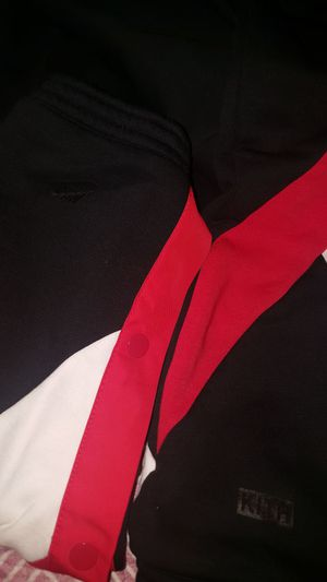 Kith x Nike Tear away Track Pant Black/Red in Medium for Sale in Falls Church, VA