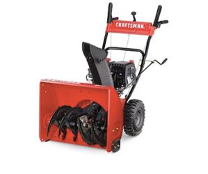 CRAFTSMAN SB410 24-in Two-stage Self-propelled Gas Snow Blower Thumbnail