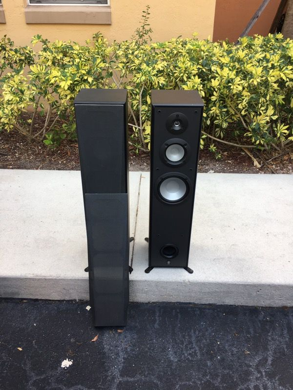 YAMAHA NS-7390 3 way base flex tower for Sale in Hialeah, FL - OfferUp