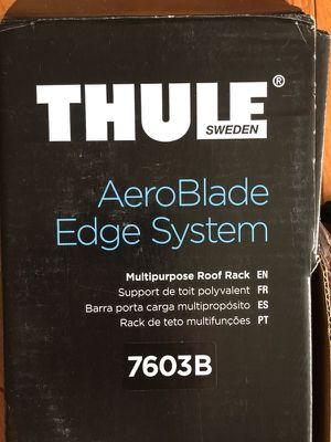 A set (2x) Thule Aeroblade Edge cross bars for Sale in Santa Monica, CA