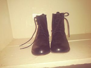 Cute black combat style boots for Sale in Washington, DC