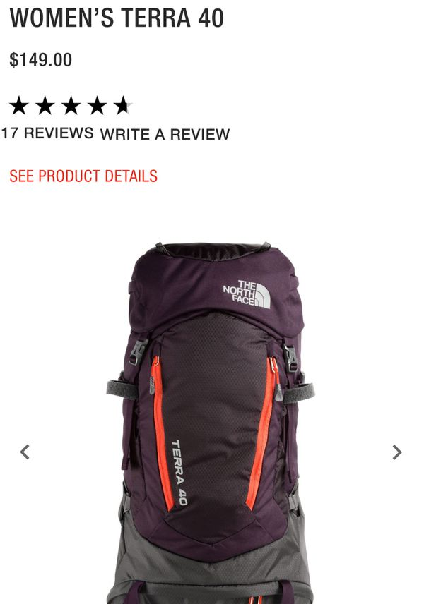 145f3e2fa North Face women's Terra 40 backpack for Sale in Tucson, AZ - OfferUp