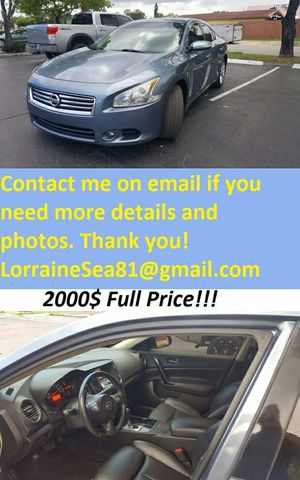 GreatShape2o1o.NissanMaxima.FirstOwner for Sale in Baltimore, MD