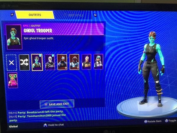 Fortnite Skull Trooper Ghoul Trooper Account For Sale For Sale In Hermitage Pa Offerup