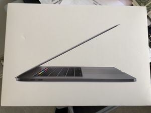 MacBook Pro 15 inch 2018 model with apple care plus for Sale in Herndon, VA