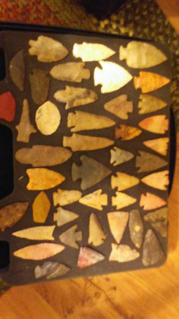 Arrowheads  Sold separately  Let me know and i can n send more pictures of  collection for Sale in Clarksville, TN - OfferUp