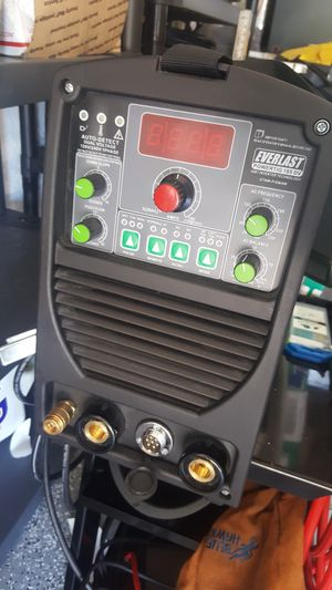 Everlast PowerTIG 185DV TIG / Stick welder for Sale in Orlando, FL
