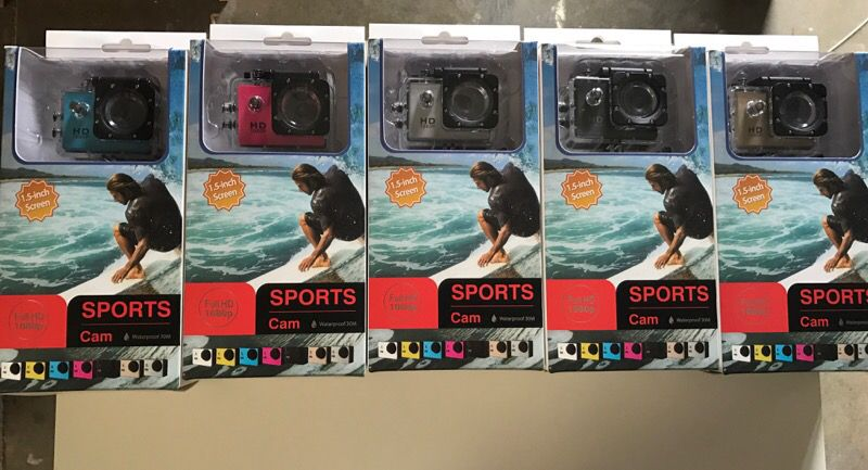Full HD 1080p Action Cam Waterproof Camcorder