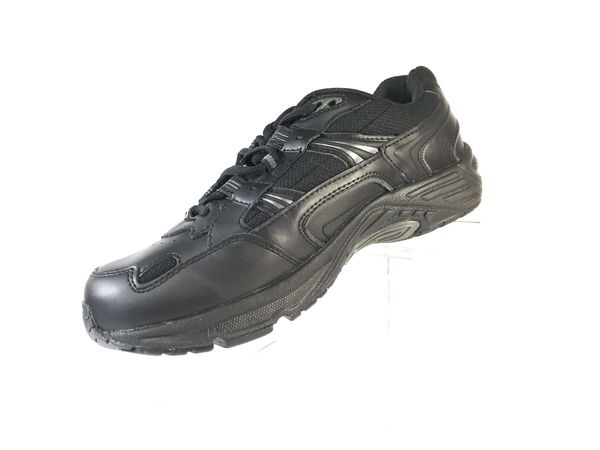 0a382682796 Women S Vionic Walker Black Walking Shoes With Orthaheel Technology