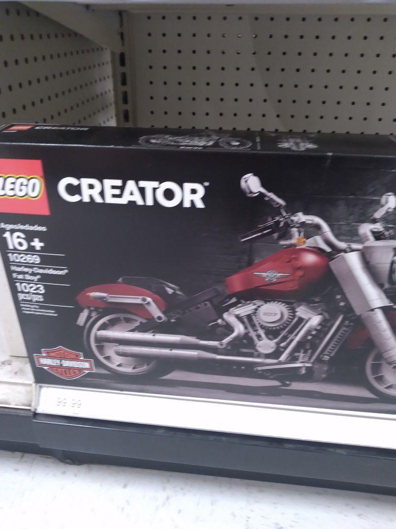 Creator Harley Davidson Fatboy Lego 10269