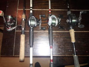 Fishing reels & rods for Sale in Fresno, CA