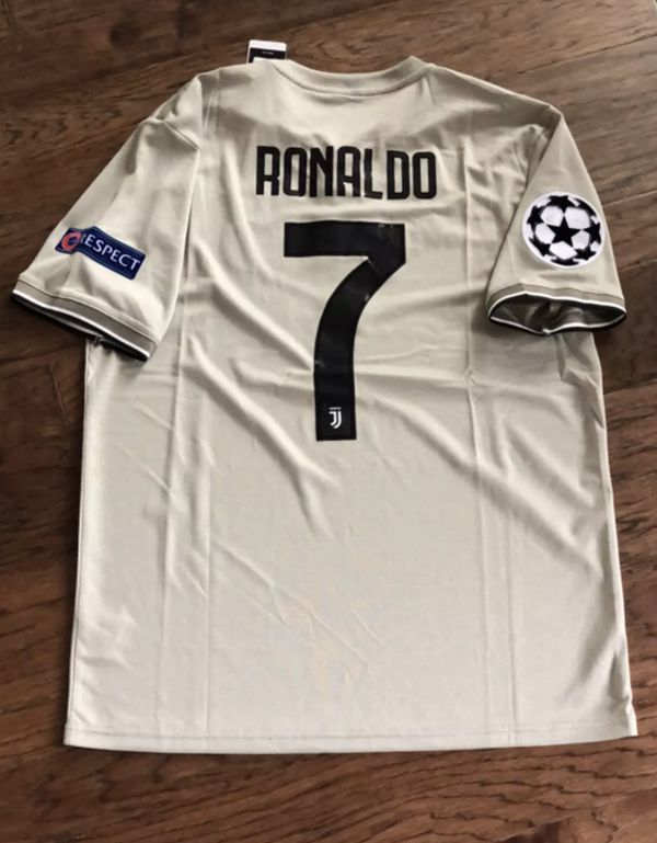 lowest price ce3cd 68027 Ronaldo Juventus Away Jersey 18-19 size XXL for Sale in Plano, TX - OfferUp