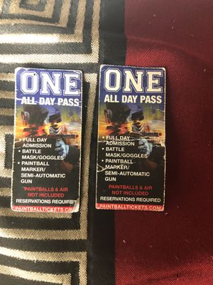 Paintball tickets for Sale in Denver, CO