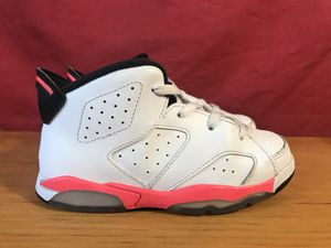 Baby Nike Air Jordan 6 VI Retro 384667-123 Basketball shoes size 10 C for Sale in Baltimore, MD