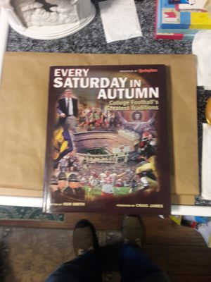 """Book, Football, """"Every Saturday in Autumn"""" for Sale in Detroit, MI"""