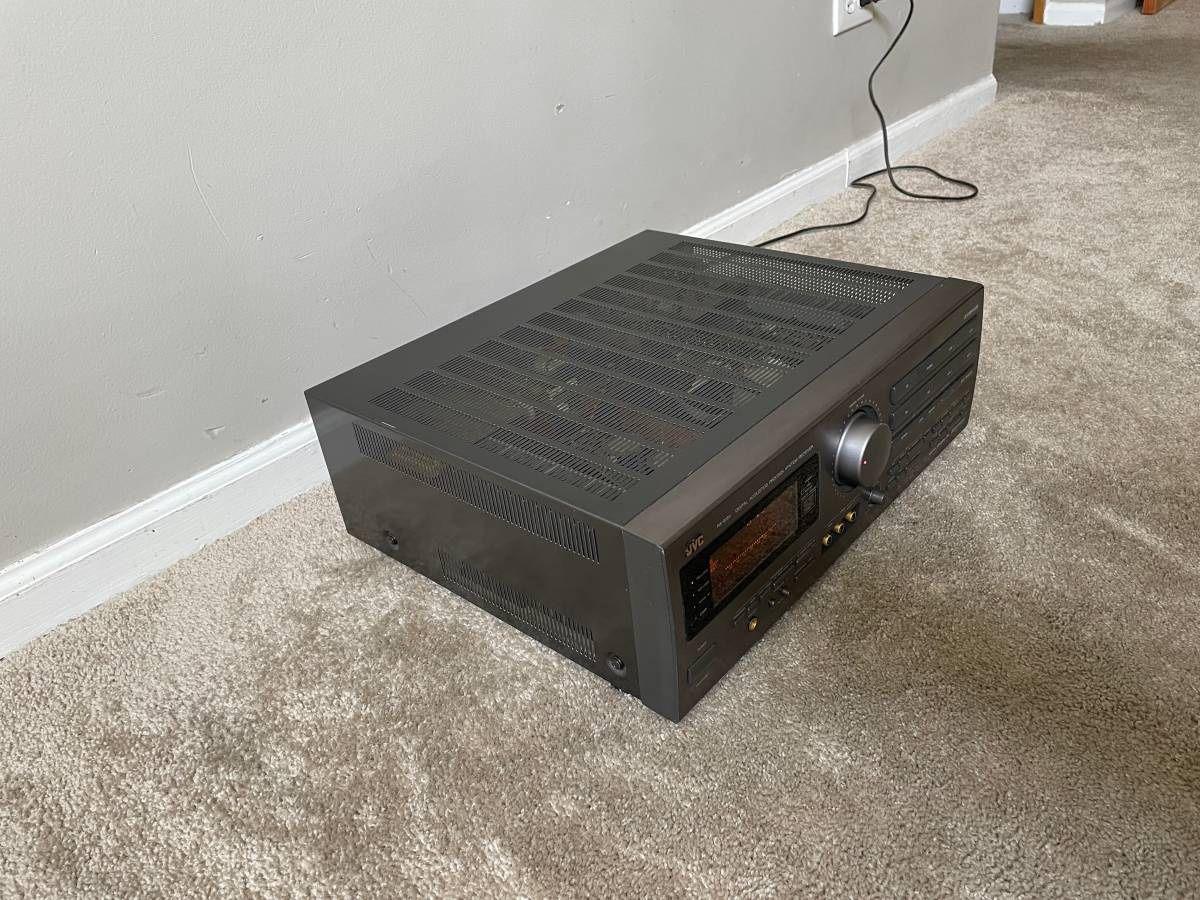 JVC RX-815V 5.1 Home Theater Surround Receiver