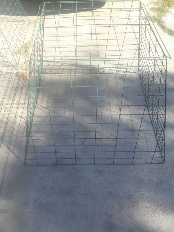 Drop pens / cages / roosters / chickens / gallos / gamefowl for Sale in  Ontario, CA - OfferUp