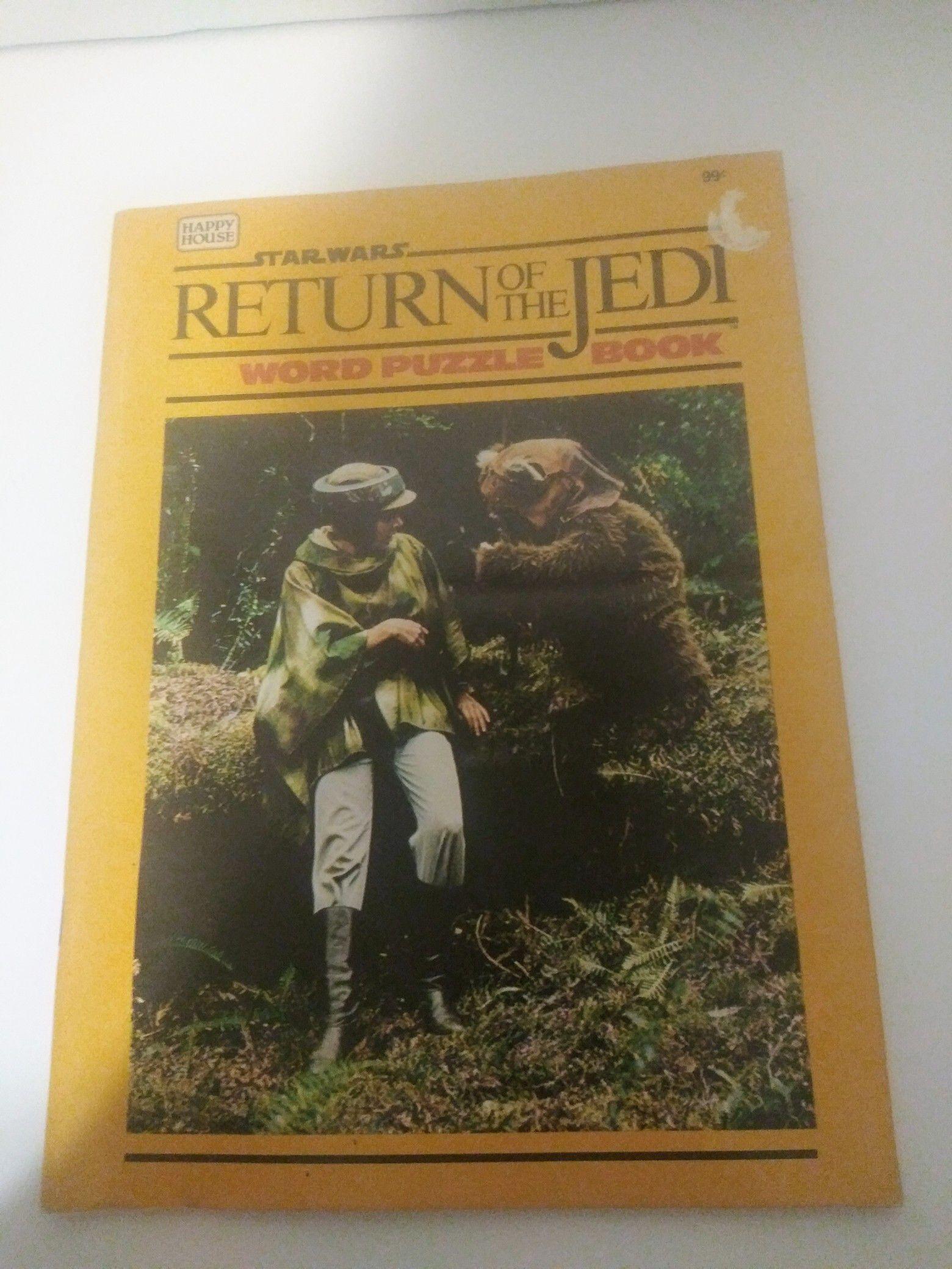 1983 Star Wars Return of the Jedi Activity Book Unused