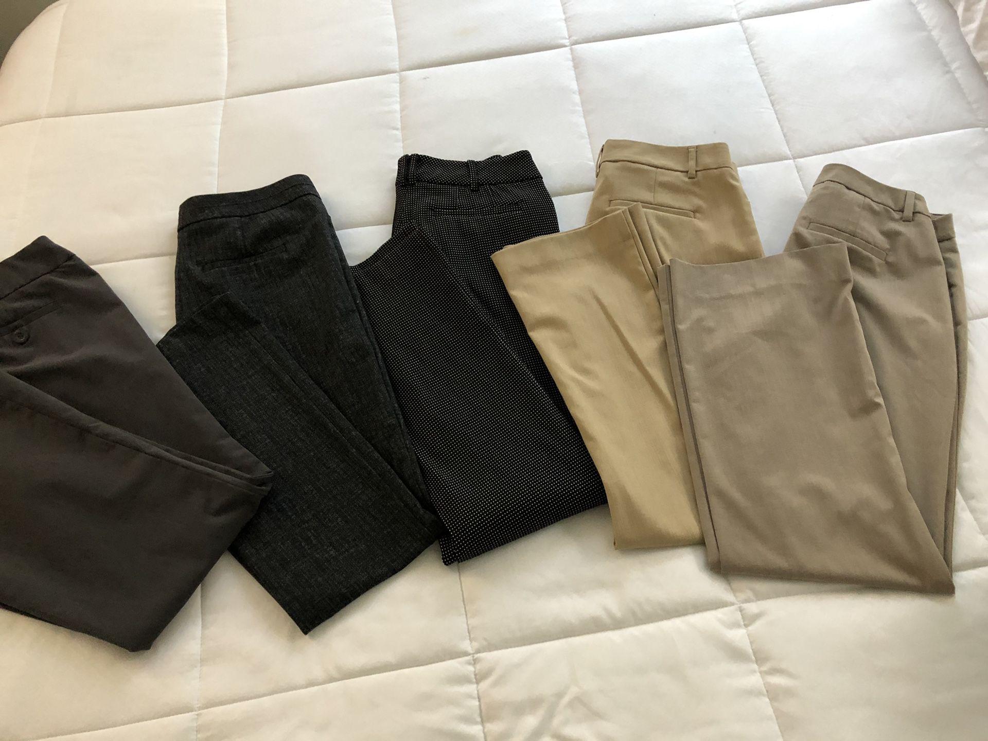 Women work pants / slacks